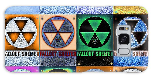 Fallout Shelter Mosaic Galaxy Case by Stephen Stookey