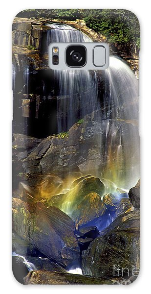 Falls And Rainbow Galaxy Case