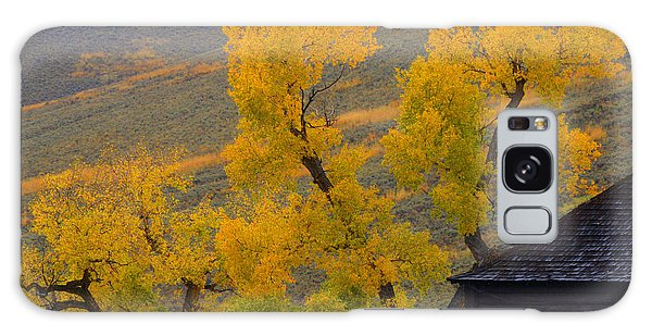Fall's Arrival At The Yellowstone Association Institute Area Galaxy Case