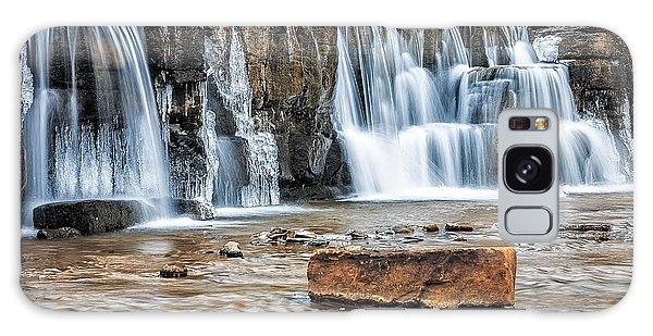 Falls At Natural Dam Galaxy Case