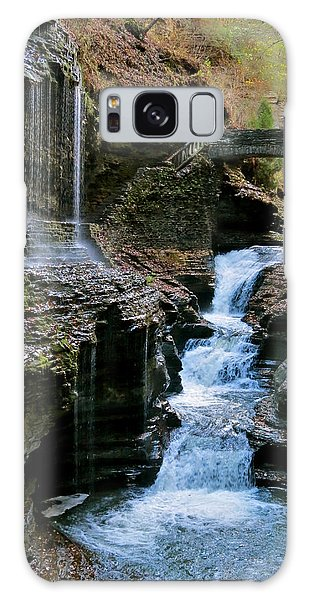 Falls At The Glen Galaxy Case