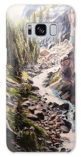 Falls Below Rimrock Lake Galaxy Case by Patti Gordon