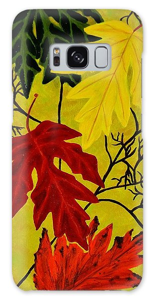 Fall's Gift Of Color Galaxy Case by Celeste Manning