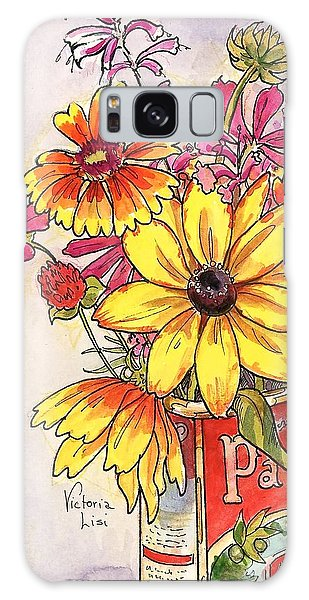 Fall's Last Bouquet Galaxy Case