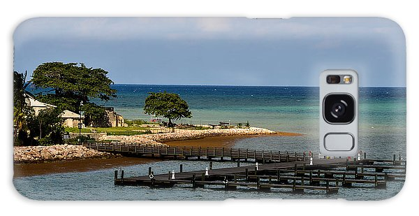 Falmouth Jamaica Port Ocean View Galaxy Case