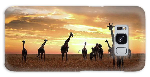 Giraffe Galaxy Case - Family by Bjorn Persson