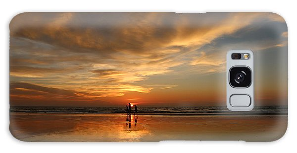 Family Reflections At Sunset - 2 Galaxy Case by Christy Pooschke