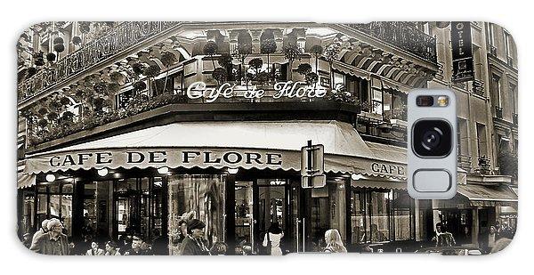 Famous Cafe De Flore - Paris Galaxy Case