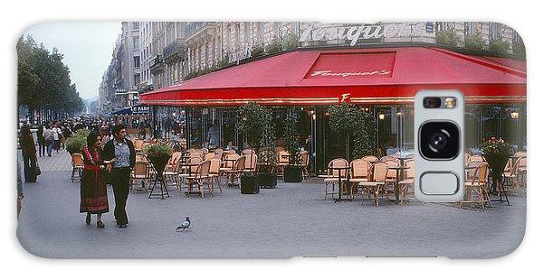 Famous Paris Restaurant - Fouquet's Galaxy Case