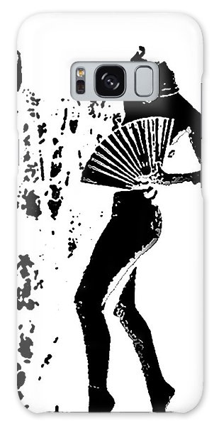 Fan Dancer Galaxy Case