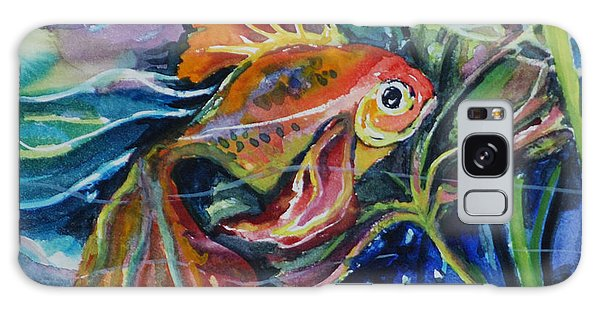 Fanciful Fish Galaxy Case