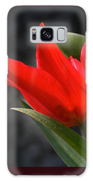 Fancy Tulip Galaxy Case