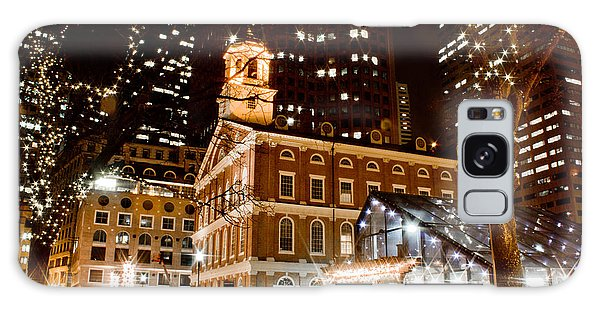 Faneuil Hall Boston Ma  Galaxy Case