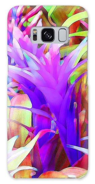 Fantasy Bromeliad Abstract Galaxy Case by Margaret Saheed