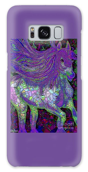 Fantasy Horse Purple Mosaic Galaxy Case