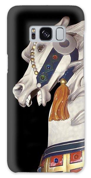 fantasy horses art - Dapple Gray Galaxy Case