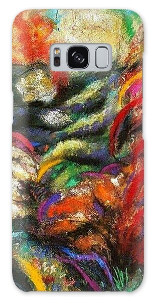 Fantasy Landscape Galaxy Case by Jodie Marie Anne Richardson Traugott          aka jm-ART