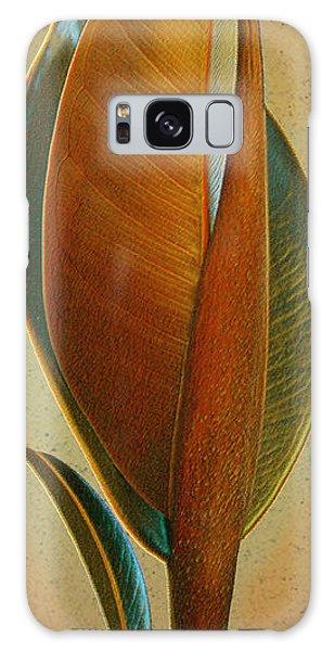 Cinnamon Teal Galaxy Case - Fantasy Leaf by Ben and Raisa Gertsberg