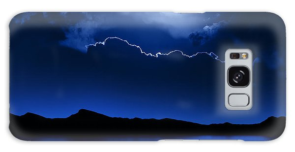 Fantasy Moon And Clouds Over Water Galaxy Case by Johan Swanepoel