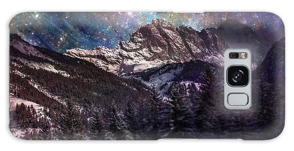 Fantasy Mountain Landscape Galaxy Case