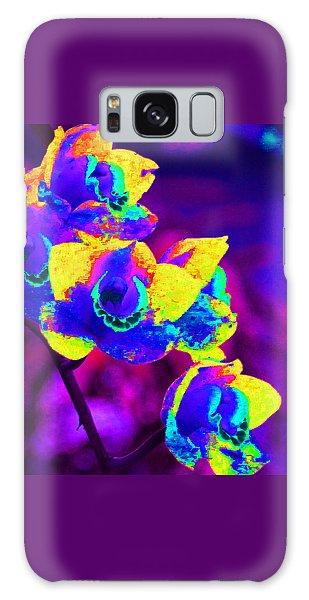 Fantasy Orchids 2 Galaxy Case by Margaret Saheed