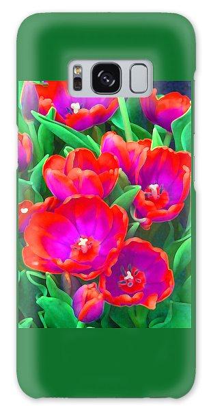 Fantasy Tulip Abstract Galaxy Case by Margaret Saheed