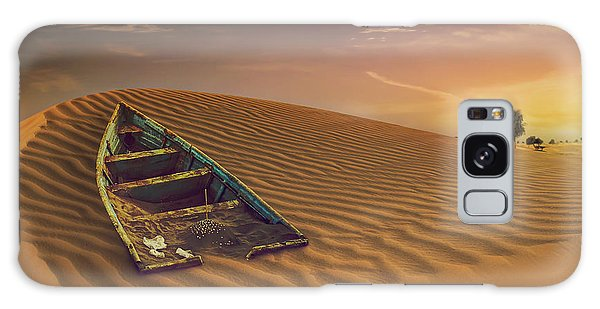 Sand Dunes Galaxy Case - Fantasy World by Nicolas Tohme