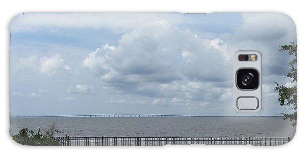 Far Away Bridge Galaxy Case by Cathy Lindsey