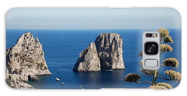 Faraglioni In Capri Galaxy Case