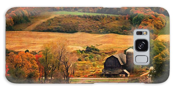 Farm Country Autumn - Sheldon Ny Galaxy Case