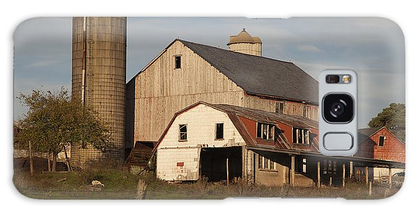 Farm House At Sundown Galaxy Case
