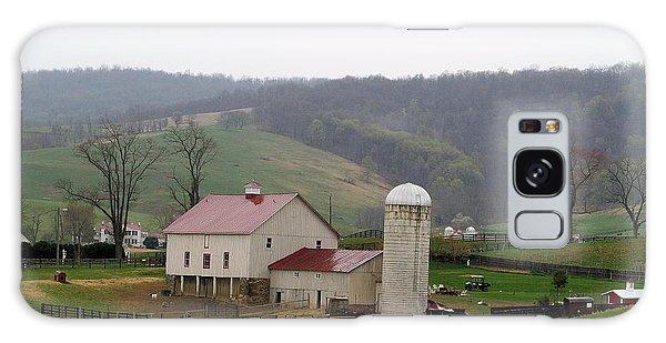 Farm In The Hills Galaxy Case