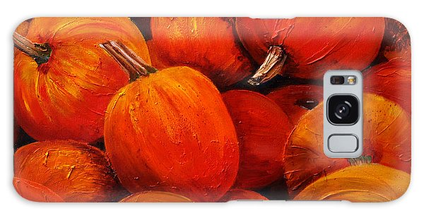Farm Market Pumpkins Galaxy Case