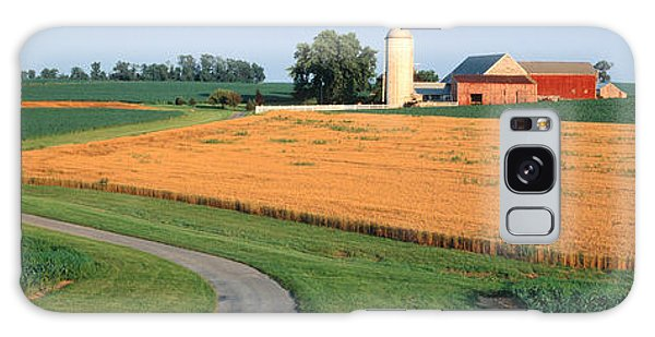 Contour Galaxy Case - Farm Nr Mountville Lancaster Co Pa Usa by Panoramic Images