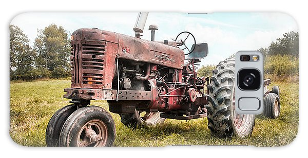 Farmall Tractor Dream - Farm Machinary - Industrial Decor Galaxy Case