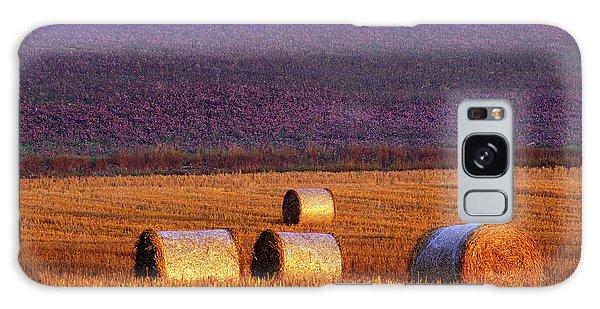 Sweden Galaxy Case - Farmers Field by Allan Wallberg