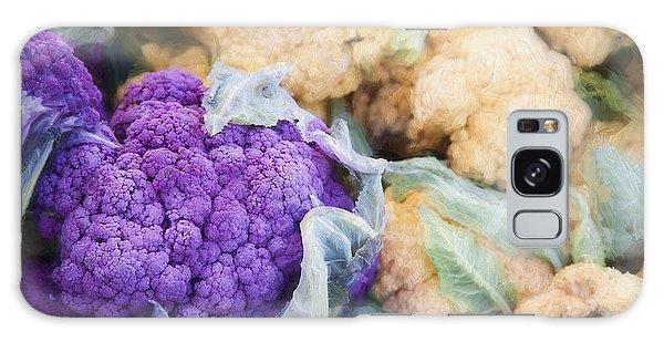 Farmers Market Purple Cauliflower Galaxy Case