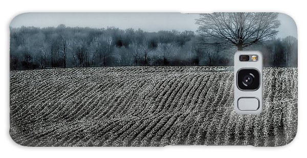 Farmfield Furrows Galaxy Case