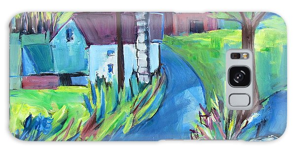 Farmhouse In Spring Again Galaxy Case
