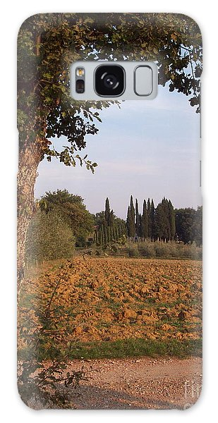 farming in Tuscany Galaxy Case