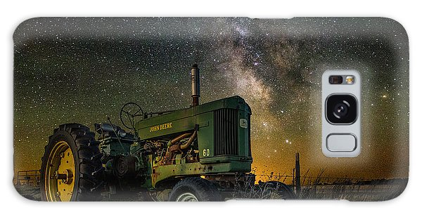 Farming The Rift 3 Galaxy Case by Aaron J Groen