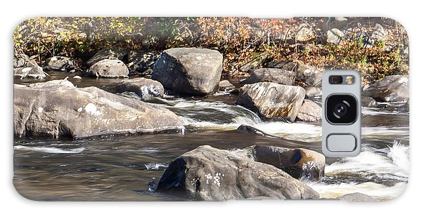 Farmington River Galaxy Case by Dawn Romine