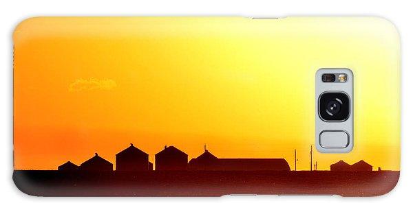 Farmstead At Sundown Galaxy Case by Clarice  Lakota