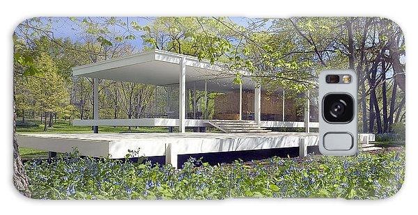 Farnsworth House Illinois Galaxy Case