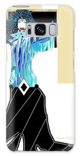 Fashion Angel Galaxy Case by Ann Calvo
