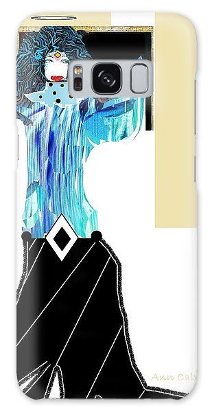 Fashion Angel Galaxy Case by Ann Calvo
