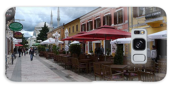 Fashion Cafes And Mosque - Shkoder Galaxy Case