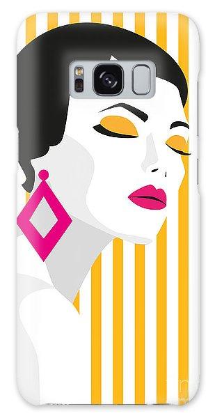Dress Galaxy Case - Fashion Girl. Bold, Minimal Style. Pop by Mary stocker