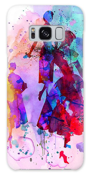 Beautiful Galaxy Case - Fashion Models 6 by Naxart Studio