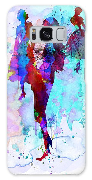 Beautiful Galaxy Case - Fashion Models 7 by Naxart Studio
